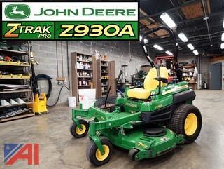 2014 John Deere Z930A Z-Track Mower
