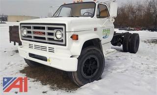 1988 GMC Sierra 7000 Cab & Chasiss