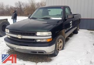 2001 Chevy Silverado 1500 Pickup Truck