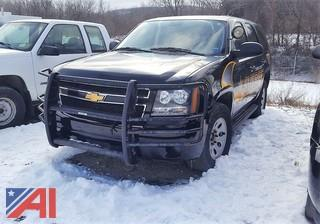 **Lot Update, 4WD** 2013 Chevy Tahoe SUV/Police Vehicle