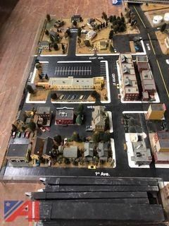 Scale Model of Town