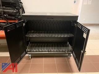 Spectrum Industries Impression Imaging Laptop Charging Carts on Wheels