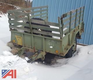 Military 1.5 Ton Cargo Trailer
