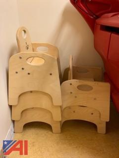 Solid Wood Toddler Chairs