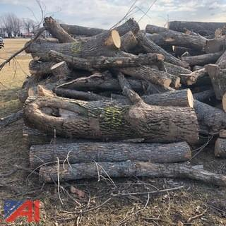 Large Lot of Fire Wood