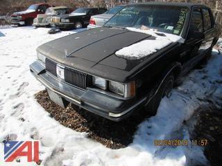 1984 Oldsmobile Cutlass Ciera 4DSD