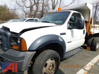 2007 Ford F450 Super Duty Dump Truck