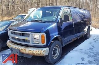 2001 Chevrolet Express 3500 Van