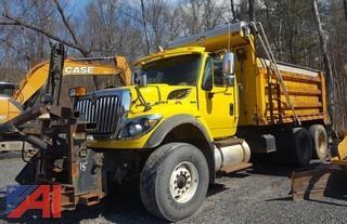 2010 International Work Star 7600 Dump Truck & Plows