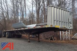 2001 Utility Dual Axle Flat Bed Trailer