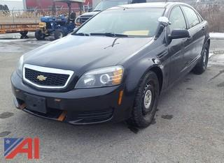 2012 Chevrolet Caprice 4DSD/Police Package