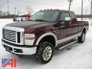 2010 Ford F250 Lariat Extended Cab Pickup Truck