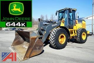 2014 John Deere 644K Articulating Wheel Loader