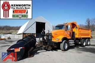 2011 Kenworth T800 Dump Truck with Plow & Spreader