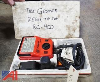 Rema Tip Top Rubber Cut Tire Re-Groover