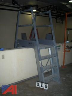 Galvanized Stair Set