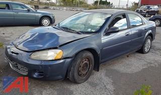 2002 Chrysler Sebring LX 4DSD (Parts Only)