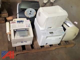 Various Printers, Desk Phones & More