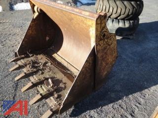 Drott 40 5' Excavator Clam Bucket