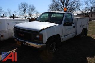 1995 GMC Sierra C/K 3500 Utility Truck
