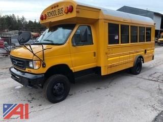 **Mileage has been updated** 2003 Ford Econoline E450 Super Duty Mini School Bus