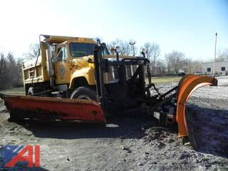 1999 International 2574 Dump with Plow and Wing