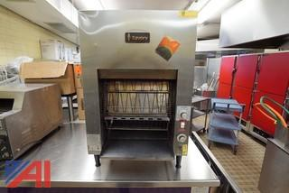 Savory Vertical Stainless Steel Toaster, #C40VS