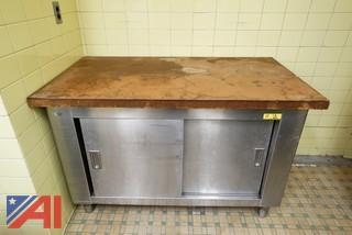2 Door S/S Storage Counter