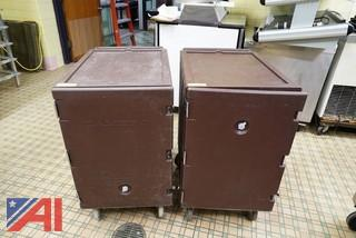 Cambro Insulated Food Boxes on Casters