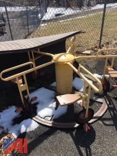 Vintage Pedal Merry Go Round