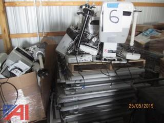 Pallets of Smartboards and Projectors