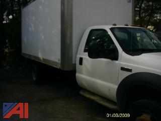 2005 Ford 450 Super Duty Box Truck