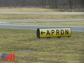 Airport Runway Signage