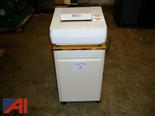 GBC Shredmaster 1036S Paper Shredder with Stand