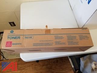 New Magenta Copier Toner