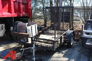 Homemade Trailer with Ramp