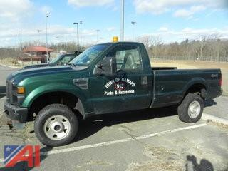 #2 2008 Ford F350 XL Super Duty Pickup Truck