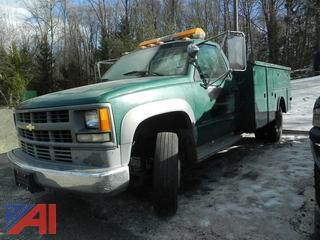 #20 1994 Chevy C/K 3500 Pickup with Utility Body