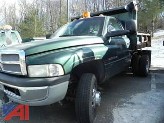 #21 2002 Dodge Ram 3500 Pickup with Dump Body
