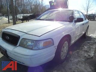 #8 2007 Ford Crown Victoria 4 Door/Police Interceptor