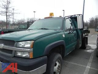 #16 2003 Chevy Silverado 3500 Pickup with Dump Body