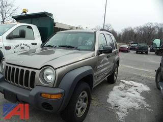 #28 2003 Jeep Liberty SUV