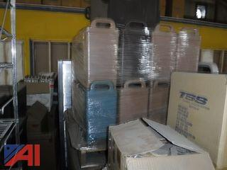 """Cambros 16"""" x 16"""" x 8' Food Containers"""