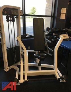 Life Fitness - Chest Press Machine