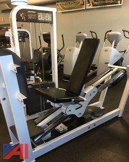 Life Fitness - Seated Leg Press Machine
