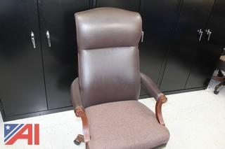 High Back Leather Conference Chairs