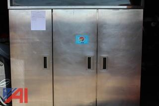 Delfield 3 Compartment Refrigerator