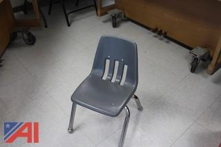 80 Small Student Chairs
