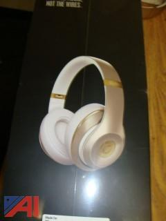 (#1512) Beats Studio Wireless Gold Collection Headphones