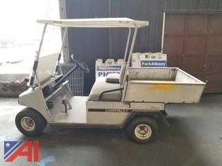 2000 Club Car Carry All 2 Dump Golf Cart